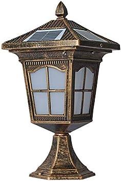 MYPNB Sonnenlicht Decking Terrassenbeleuchtung Au/ßenbeleuchtung Landschaftslicht Au/ßenleuchten Platz S/äule Scheinwerfer Rasen-Licht f/ührt im freien T/ür-Licht Modernes Minimalist Rasen-Licht