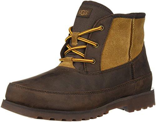 UGG Boys' K Bradley Hiking Boot,STOUT, 5 M US Big Kid (Kids Waterproof Ugg Boots)