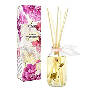 Amazon.com: LOVSPA Pink Peony Reed Diffuser Gift Set
