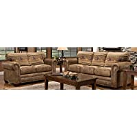 American Furniture Classics 4-Piece Wild Horses Sofa