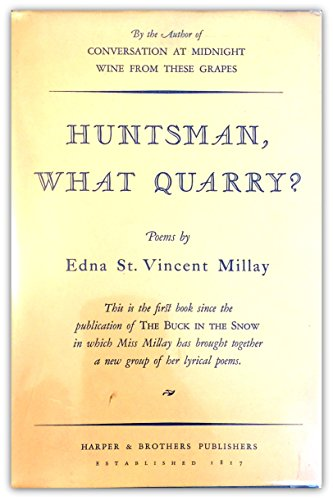 Huntsman What Quarry?
