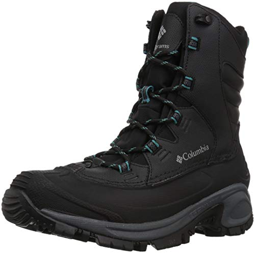 Columbia Women's Bugaboot III Mid Calf Boot, Black, Pacific Rim, 8 Regular US - Iii Snow Boot