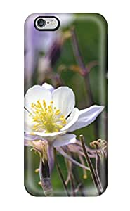 Best Awesome Design Columbine Flower Hard Case Cover For Iphone 6 Plus 8020982K25089944