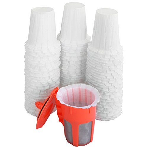 New Disposable Paper Filter for the Reusable K-Carafe Keurig 2.0 K250, K300, K475 and K575 (90 Filters) - Works in EcoCential, Solofill, Ekobrew and di Oro Reusable Filters by EcoCential (Image #3)