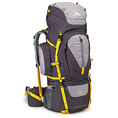 High Sierra Appalachian 75 Internal Frame Pack, Mercury/Ash/Yell-O