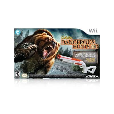 AcTiVision Cabela's Dangerous Hunts 2013 with Gun (Nintendo Wii) for Nintendo Wii for Age - 13 and Up (Catalog Category: Nintendo Wii / Arcade )