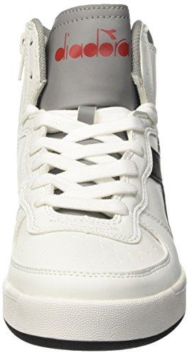 Diadora Jungen MI Basket II Y Hohe Sneaker Elfenbein (Bianco/sabbia)