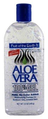Fruit Of The Earth 100% d'Aloe Vera Gel, 12 oz