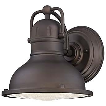 Westinghouse 6203400 Orson Energy Efficient LED Wall Lantern, Oil Rubbed Bronze