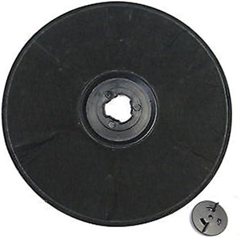 SPARES2GO EFF57 Tipo de carbono filtro de carbón para Zanussi Campana extractora/extractor Vent (230 x 20 mm): Amazon.es: Grandes electrodomésticos