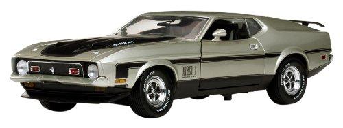 1/18 1971年 フォード マスタング マッハ1 ライト ピューター 3609