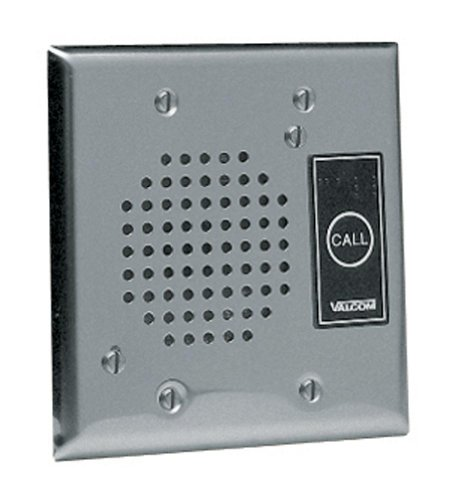 (VALCOM - Talkback Doorplate Speaker - Stnless)