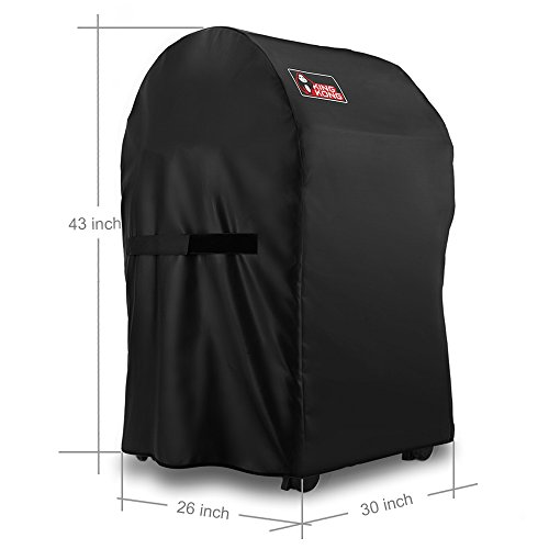 kingkong 7105 premium grill cover for weber spirit 210 series gas grills with collapsed side. Black Bedroom Furniture Sets. Home Design Ideas