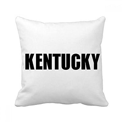 DIYthinker Kentucky America City Name Square Throw Pillow Insert Cushion Cover Home Sofa Decor Gift