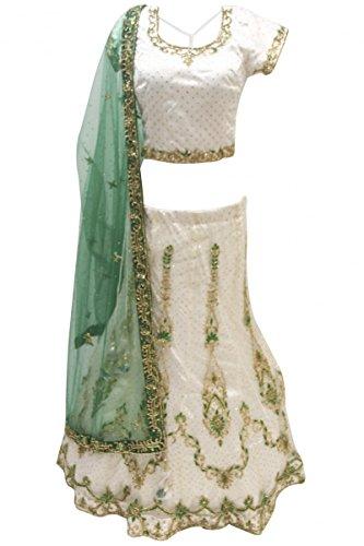 Gorgeous Green Saree - 2
