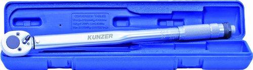 Kunzer 7DMS01 Drehmomentschlüssel Standard Im Koffer, 1/2 Zoll