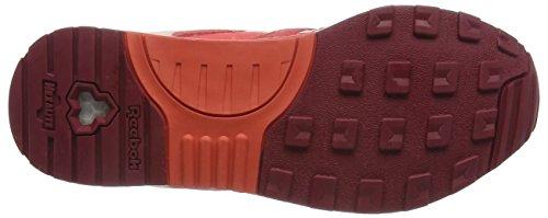 chalk Sneakers Red rosette Rosso Da triathlon white Ventilator rot Donna Reebok Pink luna Hwq0P51q
