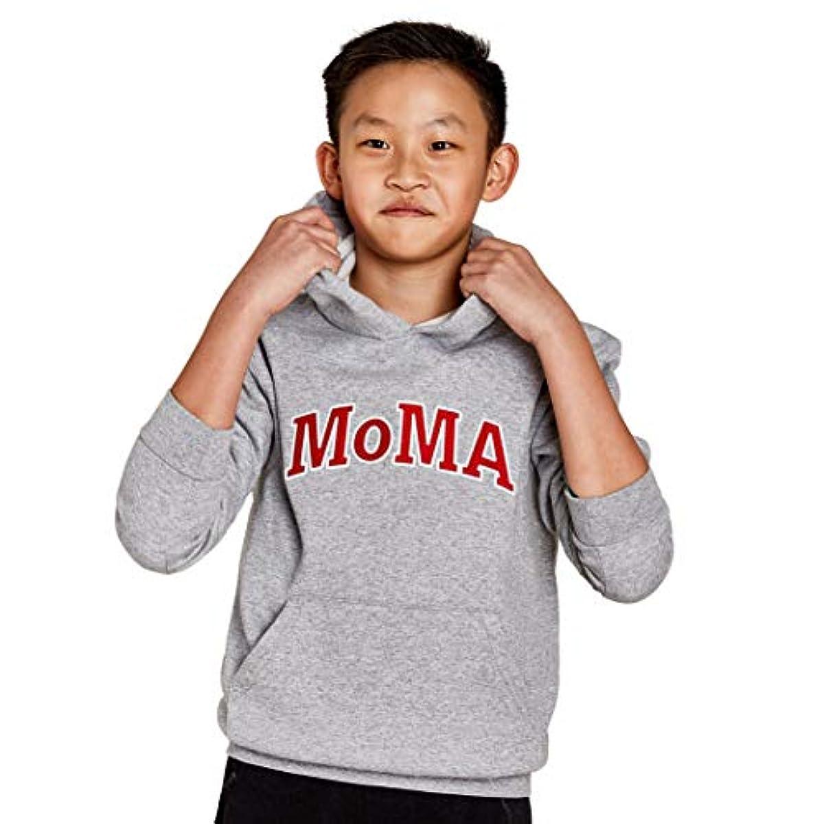 [해외] MoMA 모마 X 챔피온 키즈 후드 L 그레이