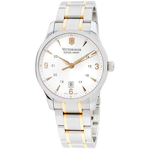 - Victorinox Alliance Silver Dial Stainless Steel Mens Watch 241477XG (Renewed)