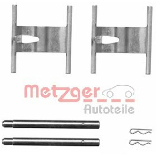 Metzger 109 –  1660 accessori Set, Freni a disco Metzger 109-1660accessori Set Werner Metzger GmbH 109-1660