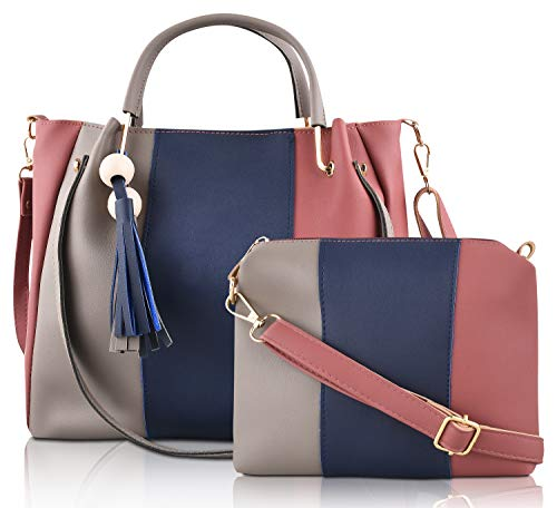 Ladies Bag Combo Set Of Two SaleBox P.U. Leather Handbag Set for girls stylish