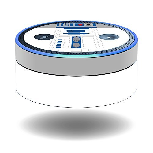 MightySkins Skin Compatible With Amazon Echo Dot (1st Generation) wrap cover sticker skins Cyber Bot from MightySkins