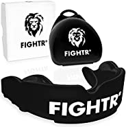 FIGHTR Premium Mouth Guard - for Better Breathing & Easily Adjustable | Sports Mouthguard for Boxing, MMA,