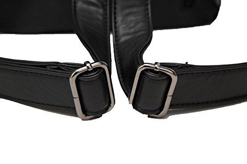 Dos AalarDom Zippers des Noir Aller à Femme l'école Sacs à DécontractéeSacs ZrZ4zq1x