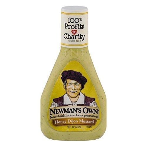 Newman's Own Salad Dressing, Honey Dijon Mustard, 16 (Honey Dijon Dressing)
