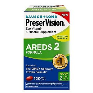 PreserVision AREDS 2 Formula Eye Vitamin & Mineral Supplement, Softgels, 120 ea
