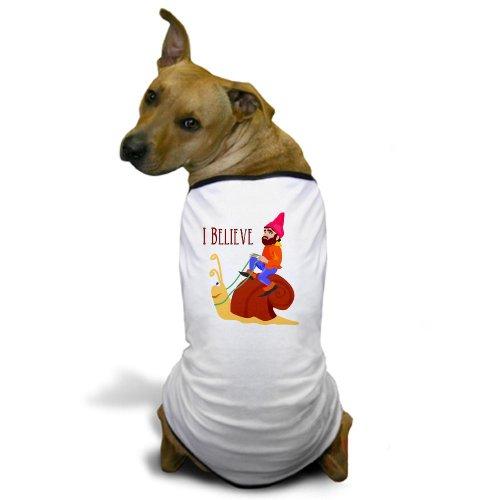 CafePress - Gnome 2 Dog T-Shirt - Dog T-Shirt, Pet Clothing, Funny Dog Costume ()