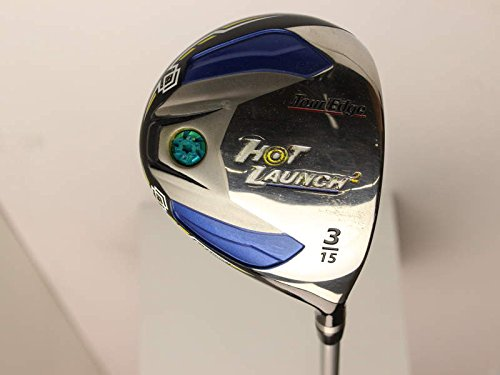 Tour Edge Hot Launch 2 Fairway Wood 3 Wood 3W 15 Stock Graphite Shaft Graphite Stiff Right Handed 43.25 in