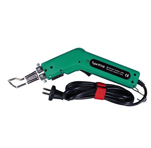 전기 핫 나이프 갯 솜 절단기 거품 밧줄 튜브 파이프 원단 용 핫 히터 절단기 100W 110V220V / Electric Hot knife sponge cutter foam rope tube pipe for fabric hot heater cutter 100w 110v220v