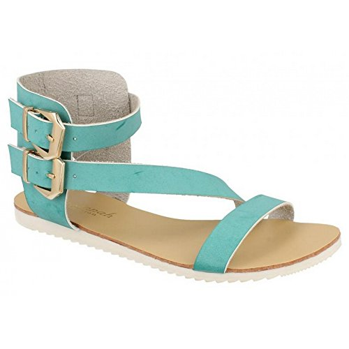 Savanah Damen Gladiator-Sandalen Tan
