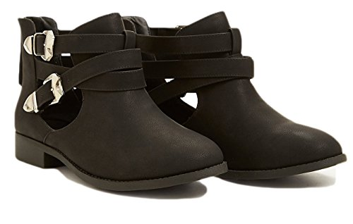 free-reign-cut-out-buckle-strappy-bootie-wide-width-8-wide-black