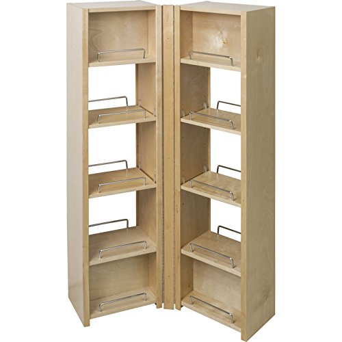 Hardware Resources PSO45 Pantry Swing Out Cabinet, Maple
