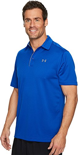 Under Armour Golf Men's Tech Polo Royal/Graphite/Graphite X-Small by Under Armour (Image #1)