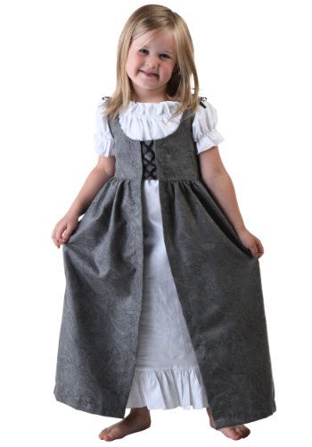 [Fun Costumes Little Girls' Toddler Renaissance Faire Costume Toddler] (King Toddler Costume)