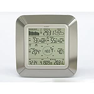 La Crosse Technology La Crosse Technology Wireless Weather Pro Center, Silver Finish Body Color