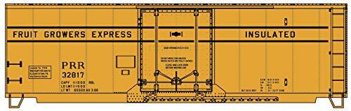 Accurail HO Scale Kit AAR 40' Insulated Box Car Pennsylvania Railroad/FGE #32817