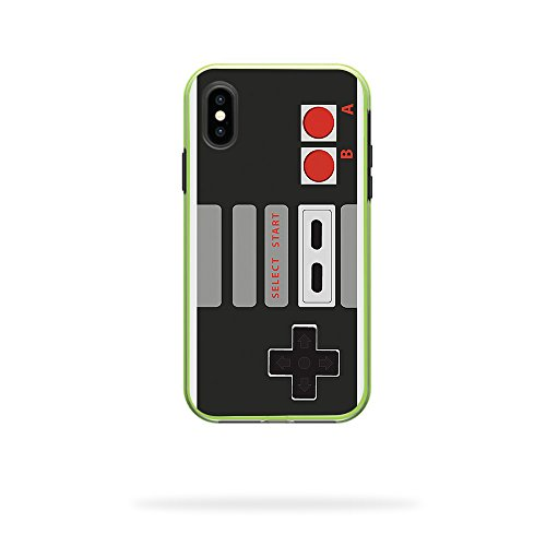 MightySkins Skin for LifeProof SLAM iPhone X or XS Case - Retro Gamer 3   Protective, Durable, and Unique Vinyl Decal wrap Cover   Easy to Apply, Remove, and Change Styles   Made in The USA