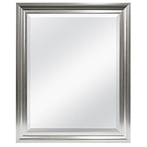 Silver Bathroom Mirror: Amazon.com