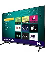 "Hisense 32"" 720p Televisor HD Pantalla LED TV Roku Smart con WiFi Netflix Youtube Vudu Pandora Hulu y ESPN 32H4030F3 Modelo 2020 (Renewed) (TV) …"