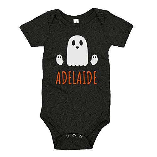 FUNNYSHIRTS.ORG Adelaide Halloween Spooky Ghost: Infant Triblend Bodysuit -