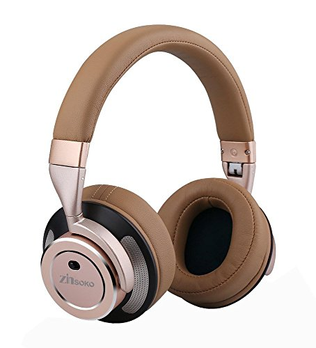 Zinsoko Z-H01 Wireless Active Noise Cancelling Headphones Over Ear...