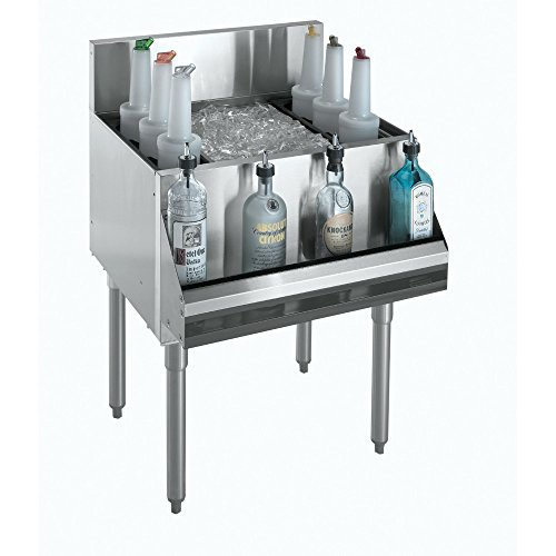 Underbar Cocktail Unit (Krowne Metal KR18-36-10 Royal 1800 Series Underbar Ice Bin/Cocktail Unit 36