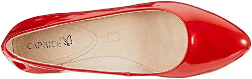 505 Ballerine Donna 22107 Caprice Red Rosso Patent R0gaWnY
