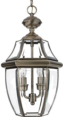 Colonial Hanging Porch Light