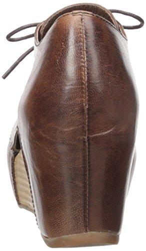Antroope 565 Oxfords Lederen Comfort Damesschoenen Bruin