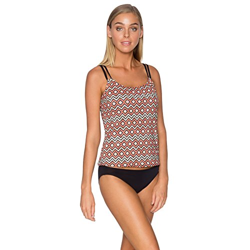 Sunsets 75EFGH Womens Taylor Tankini Top, Taos, Size - T-3